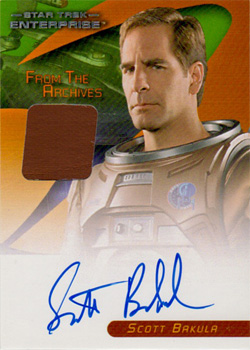 Scott Bakula Autograph/Costume Card