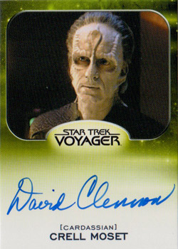 Autograph - David Clennon as Crell Moset