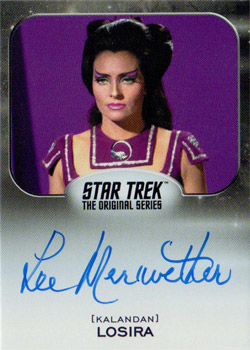 Autograph - Lee Meriwether as Losira