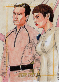 Roy Cover Sketch - Tucker and T'Pol