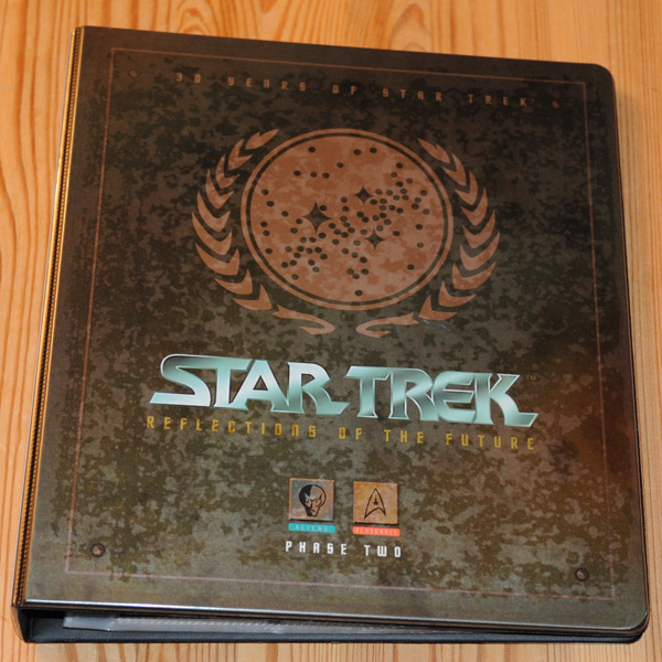 30 Years Star Trek Reflections of the Future Phase Two Binder