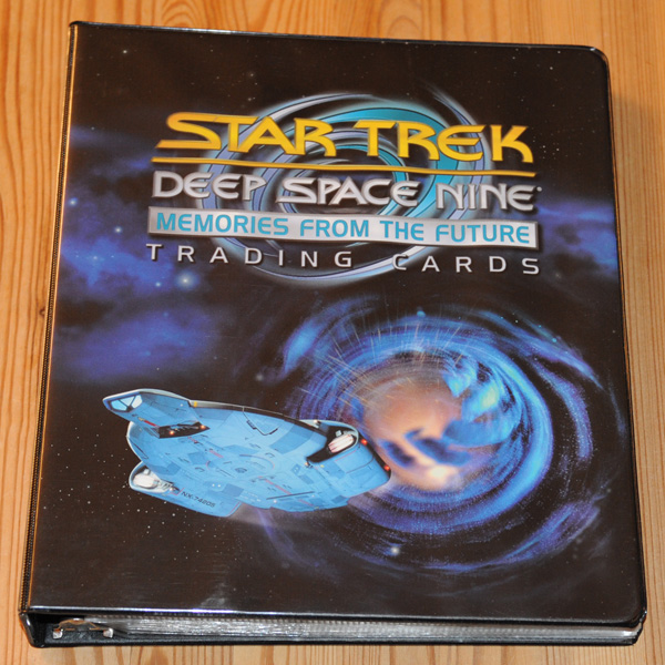 Star Trek DS9 Memories from the Future Binder