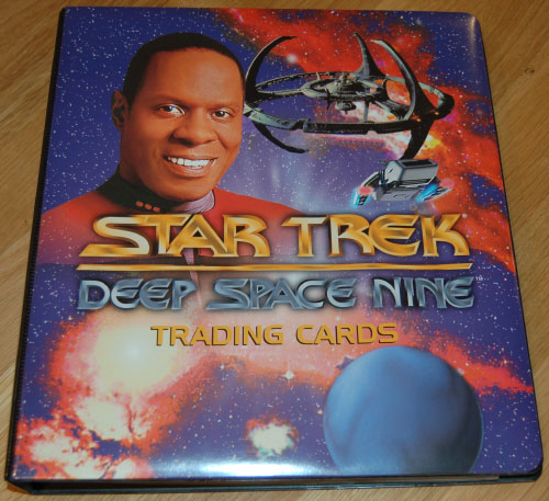 "Star Trek DS9 ""Premiere"" Binder"