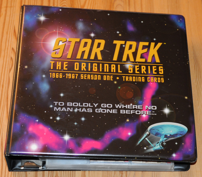 Star Trek The Original Series Season 1 Binder
