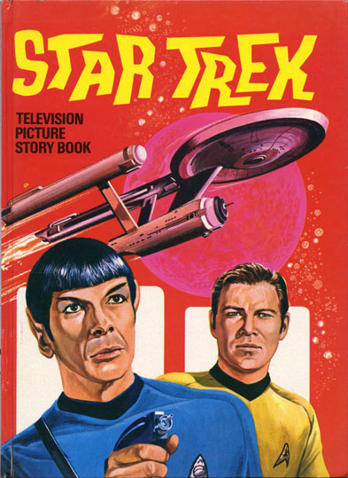 1971 Star Trek Television Pictures Story Book