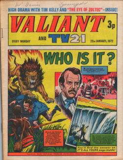 Valiant and TV21 #17
