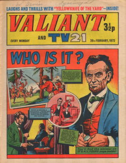 Valiant and TV21 #22