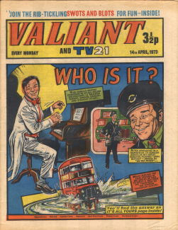 Valiant and TV21 #81