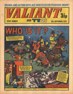 Valiant and TV21 #105