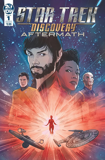 IDW Star Trek Discovery - Aftermath 1 A