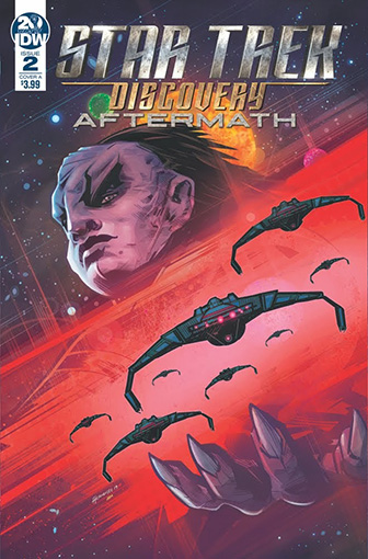 IDW Star Trek Discovery - Aftermath 2 A