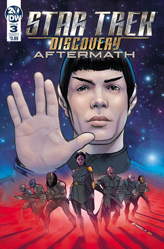 IDW Star Trek Discovery - Aftermath 3 A