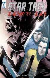 IDW Star Trek Manifest Destiny 1 Klingon Language
