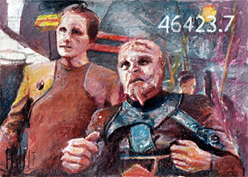 Charles Hall Sketch - Odo and Asoth