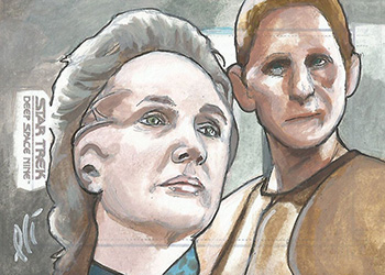 Lee Lightfoot Sketch - Enina Tandro and Odo