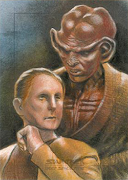 Huy Truong Sketch - Odo and Quark