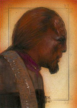 Huy Truong Sketch - Worf #1