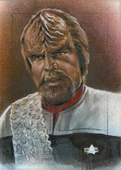 Huy Truong Sketch - Worf #3
