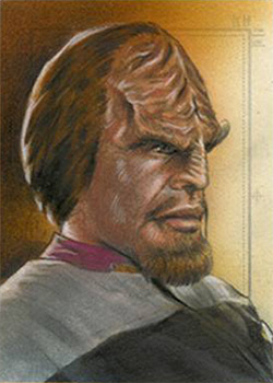 Huy Truong Sketch - Worf #5
