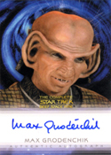 Autograph Max Grodenchik