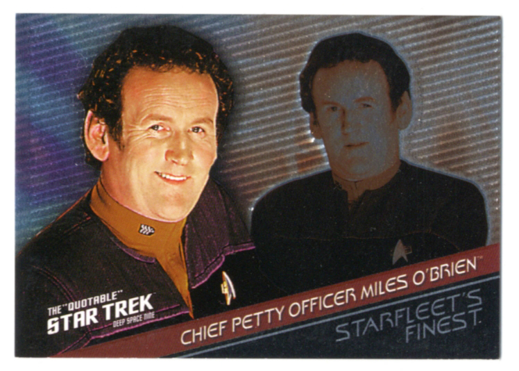 F6 Chief Petty Officer Miles O'Brien