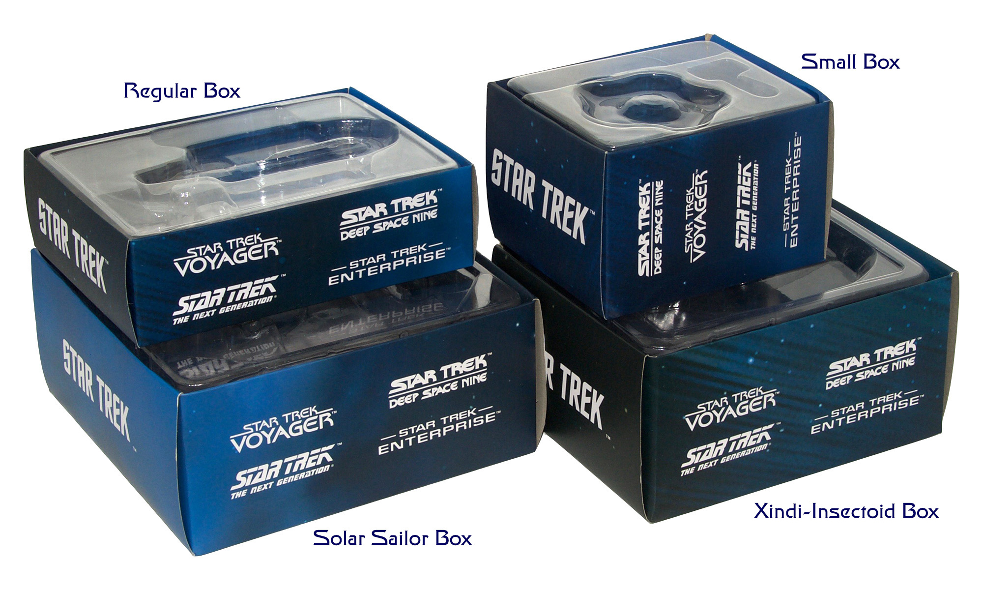 Eaglemoss Star Trek Starships Special Issue 1 Box