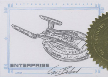Enterprise NX-01 Sketch