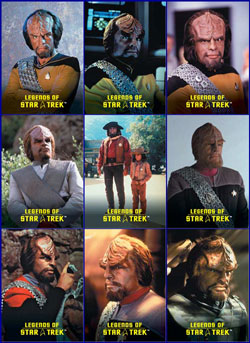 Worf Legends Set