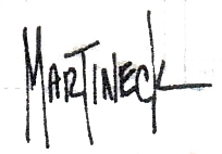 Warren Martineck Signature