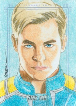 Roy Cover Sketch - James T. Kirk