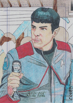 Roy Cover Sketch - Spock