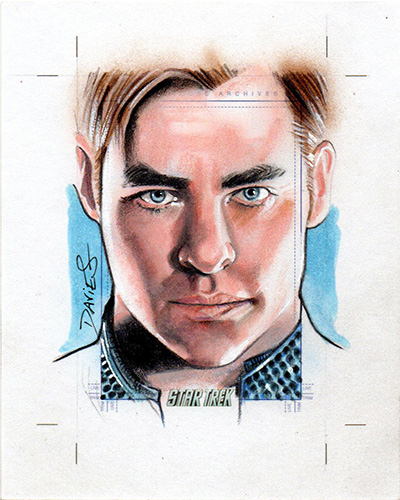 Jason Davies AR Sketch - James T. Kirk