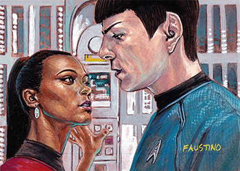 Norman Faustino AR Sketch - Uhura and Spock