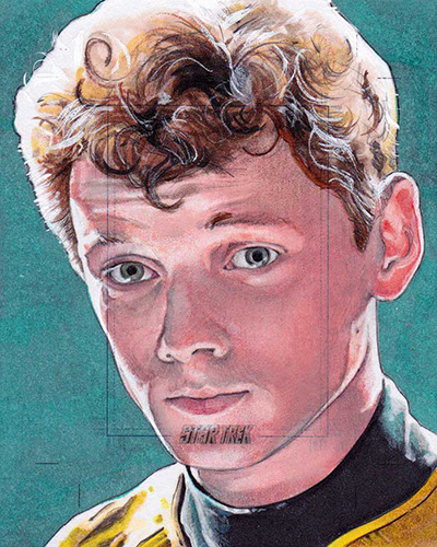 Michael James AR Sketch - Chekov