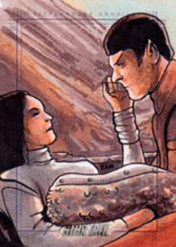 Rich Molinelli Sketch - Spock's Birth