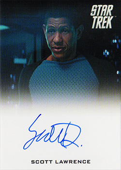 Autograph - Scott Lawrence