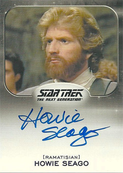 Autograph - Howie Seago