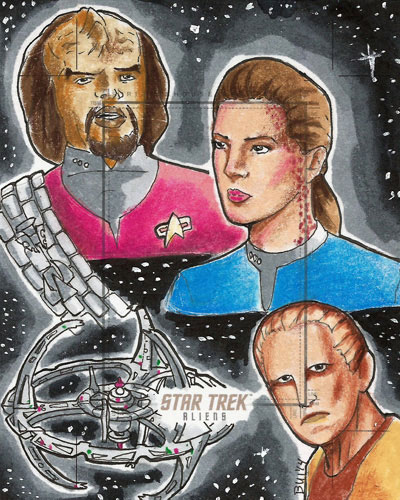 Thanh Bui Sketch Return - DS9 Montage