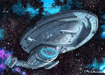 Roy Cover Sketch Return - USS Voyager