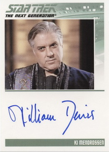 Autograph - William Denis