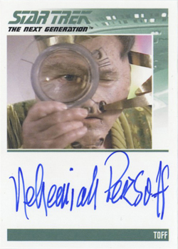 Autograph - Nehemiah Persoff