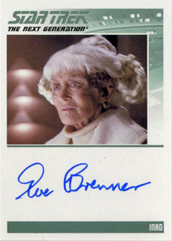 Autograph - Eve Brenner