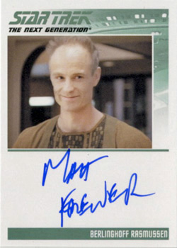 Autograph - Matt Frewer