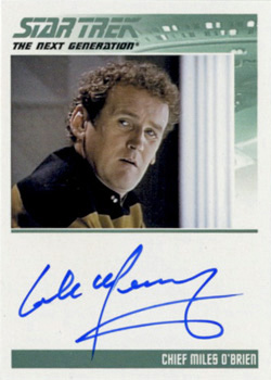 Autograph - Colm Meaney
