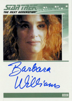 Autograph - Barbara Williams