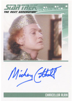 Autograph - Mickey Cottrell
