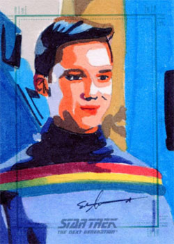 Sean Anderson Sketch - Wesley Crusher