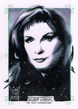 François Chartier Sketch - Dr. Beverly Crusher