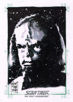 François Chartier Sketch - Worf