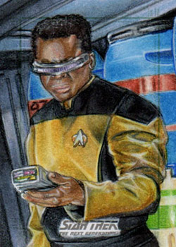 Adam & Bekah Cleveland Sketch - Geordi La Forge